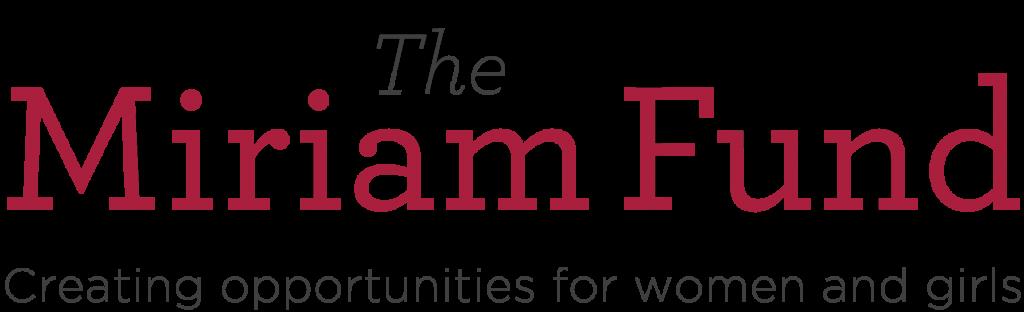 logo for The Miriam Fund