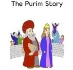 image of characters in the Purim story