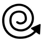 image symbol representing spinning