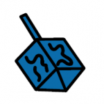 image symbol of a dreidel