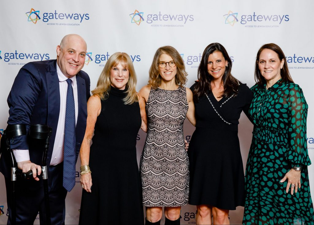 photo of five members of the Gateways board