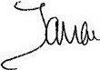 Signature of Tamar Davis